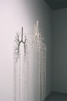 Jenine Shereos of Boston, Contemporary Fiber Art Craft Textiles Textiles, Textile Fiber Art, Anatomy Art, Sculpture, Land Art, Fabric Art, Installation Art, Art Inspo, Contemporary Art