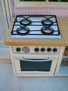 Un Taller de Miniaturas: Tutoriales/How to do - stove