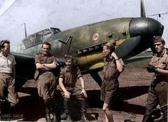 """Bf-109F, 5/I """"Puma"""" Fighter wing , Royal Hungarian Air Force , ZSRR 1943"""