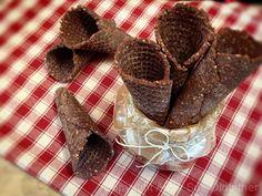 Raw vegan cones