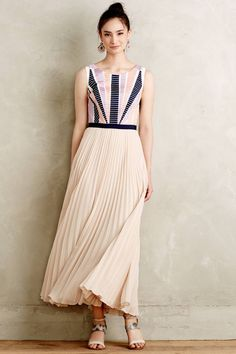 Anthropologie's New Arrivals: Summer Night Dresses - Topista #anthrofave