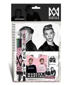 Kjøp Marcus & Martinus - Marcus & Martinus Writing set - with spiral pad ruled sheets - Lekmer.no – Kjøp barneartikler online - Lekmer.