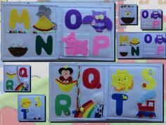 Personalized baby gift Children's Quiet Book by HappyBusyBooks