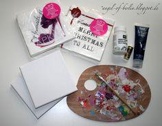 Angel of Berlin: [creates] self-made art for Christmas
