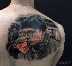Timur Rumit @rumittattoo  @blackouttattoocollective  #blackouttattoocollective #rumit #brother #брат #сергейбодров Appointments and info via timur(at)blackout.tattoo