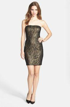 Maggy london swirl lace dress