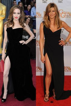 "Biatch stole (not only) my look.... pero la pierna de Angelina es ""creepy""!"