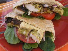 Chicken Shawarma Pitas