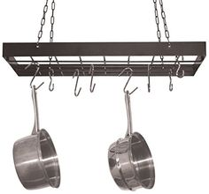 Black Finish Rack with Nice Hanging Chains  Hooks -- Check out this great product by click affiliate link Amazon.com