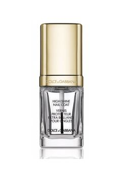 Dolce & Gabbana High Shine Coat, $27.50, available at Saks Fifth Avenue. #refinery29 http://www.refinery29.com/nail-polish-trends-2017#slide-17