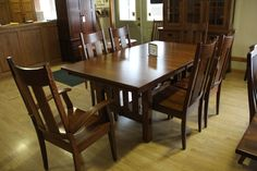 alluring wooden table and chairs #ShopGF
