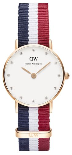 DANIEL WELLINGTON - Classy Cambridge 26mm Rose Gold or Silver