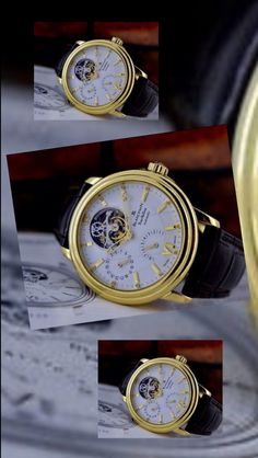 Watches of Distinction: Blancpain Tourbillon Wrist Watch. Priced at: $43,500.00. A Beauty!