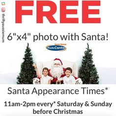 Repost from @thriftyaussiemum: Gotta love free! @harveynormanau There is the option to purchase photo packs but if the budget is tight stick to your guns and just get the freebie.  #thriftymum #savingmoney #frugal #santaphoto #free #bargain