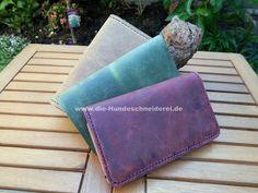 Geldbeutel aus pflanzlich gegerbtem Leder