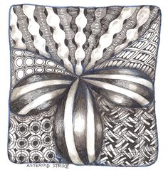 Free Zentangle How To Patterns | has great directions and easy to follow directions to get started here ...