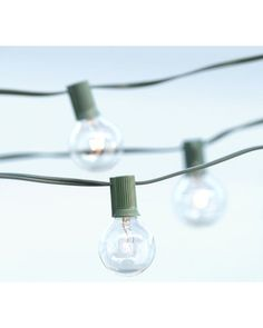 We love these globe string lights for some outdoor ambiance on those summer evenings! Get them here: http://www.bhg.com/shop/pottery-barn-globe-string-lights-p505c366382a71c80fdfdc0d5.html