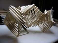 twisting cube 3a in Architectural Models  #conceptualarchitecturalmodels Pinned by www.modlar.com