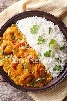 Photo of recipe Shrimps in the Indian- Photo de la recette Crevettes à l& Photo of recipe Shrimps in the Indian - Indian Shrimp Recipes, Indian Food Recipes, Asian Recipes, Healthy Cooking, Cooking Recipes, Healthy Recipes, Salty Foods, Exotic Food, No Cook Meals
