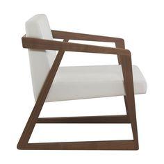 Современное кресло / из дерева / салазки / для ресторана - LEONORA LOUNGE - CMcadeiras