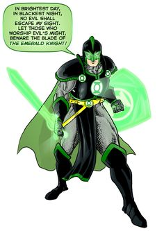 <b>In brightest day, in blackest night...</b> These heroes would make great lanterns, right?