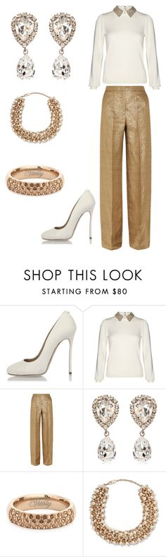 """""""Ivory & Bronze!"""" by quasia-taylor on Polyvore featuring Dsquared2, Alice + Olivia, Etro, Dolce&Gabbana, Vitaly and Valentino"""