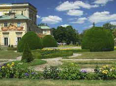 Poľsko,Varšava-Wilanow-Park 5