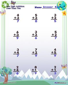 These Earth Day worksheets for color-by-number, addition, subtraction, multiplication and division math problems in printable PDF format will sweeten up your math practice for February! Multiplication And Division Worksheets, Addition And Subtraction Worksheets, 3rd Grade Math Worksheets, Free Printable Math Worksheets, Number Worksheets, Simple Math, Basic Math, Division Math Problems, Earth Day Worksheets