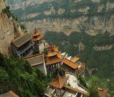 Hanging Temple Xuankong, Datong Shanxi, Hunyuan China
