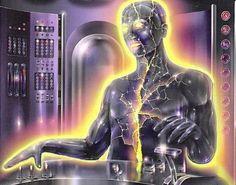 The Futuristic Age of Retro Sci-Fi New Retro Wave, Retro Waves, Arte Sci Fi, Sci Fi Art, Science Fiction Kunst, Physical Comedy, Arte Tribal, Psy Art, Fantasy