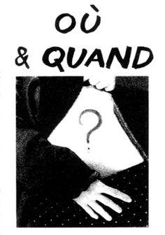 """""""Oú & Quand"""" Amelie <3"""