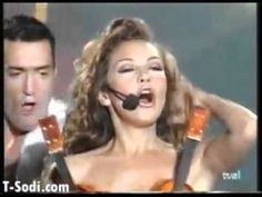 """Pin for Later: 20 Songs That'll Get Everyone on the Dance Floor at Your Next Party """"Amor A La Mexicana"""" by Thalia"""