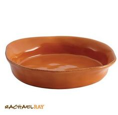 Rachael Ray Cucina 1.5-Qt. Round Baker, Pumpkin Orange #giveaway