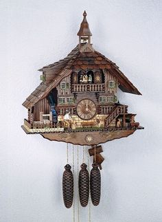 Cuckoo Kingdom, Inc - Schneider Cuckoo Clock, Animated, Bell Tower, Model