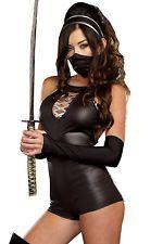 Women's Sexy Halloween Ninja Beauty International Cosplay Costume LC8808