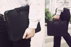 Custom Handmade Italian Vegetable Tanned Leather Briefcase, Messenger Bag, Men's Handbag