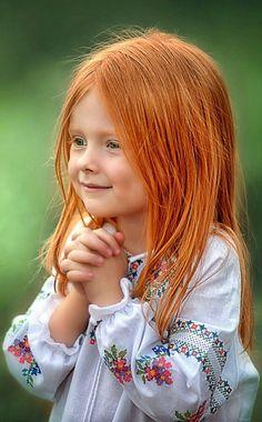 Kind Rote Haare