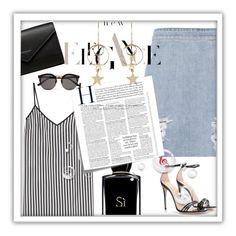 """New elegance"" by ivana-fashion ❤ liked on Polyvore featuring IRO, Marco de Vincenzo, Giorgio Armani, Gucci, Balenciaga, Post-It, Zimmermann and Illesteva"