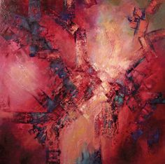 ARTFINDER: Desire by Sandra Zekk - Painting: oil on canvas Painted on a deep edge gallery wrapped canvas. This painting may be hung without being framed, as the sides are painted as a conti...