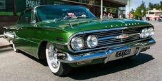 American cars in Finland Impala LS1 1960