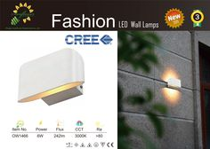 LED wall sconces Cree Chip high power with 3 years warranty high quality manufactured by Sunflower.