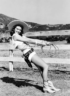 1950s cowgirl pin up