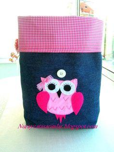 Applique Owl Bag. $20.00, via Etsy.