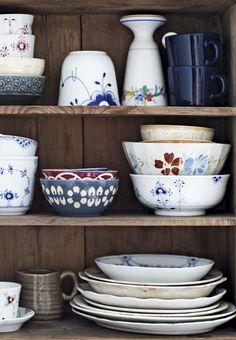 Vis din keramik frem med et skab uden låger