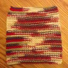 All done!! My very first knook dishcloth :-)     I must try this too.