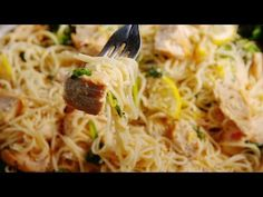 Best Lemon Butter Chicken Pasta Recipe - How to Make Lemon Butter Chicken Pasta