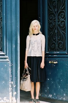 Check out modesttrends.com for more modest fashion!  Vanessa Jackman: Paris Couture Fashion Week AW 2012/13...Anmari