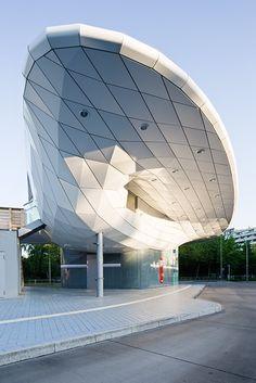 Busbahnhof Poppenbüttel, Hamburg, Germany by Blunck-Morgen Architekten