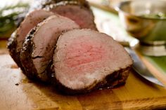 Slow Cooker Beef Tenderloin - Yummy and always makes a PERFECT meal! www.GetCrocked.com