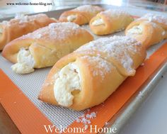 Welcome Home Blog: Cheese Danish
